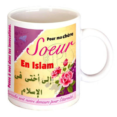 Mug Pour ma soeur en Islam 2
