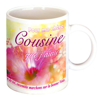 Mug Pour ma cousine