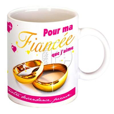 Mug pour ma fiancée