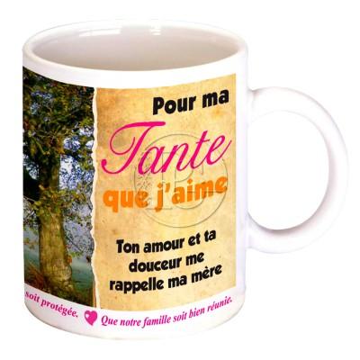 Mug pour ma tante