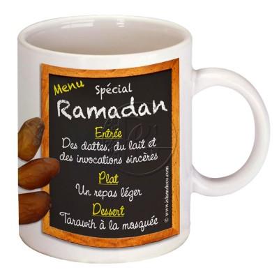Mug Menu spécial Ramadan