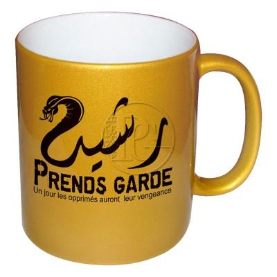 Mug Personnalisable Vengeance - doré