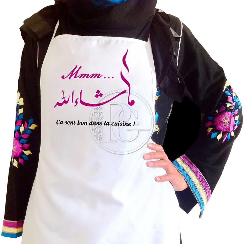 Tablier Femme - Macha Allah -