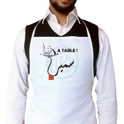 Tablier Homme - Personnalisé - Homme A Table -