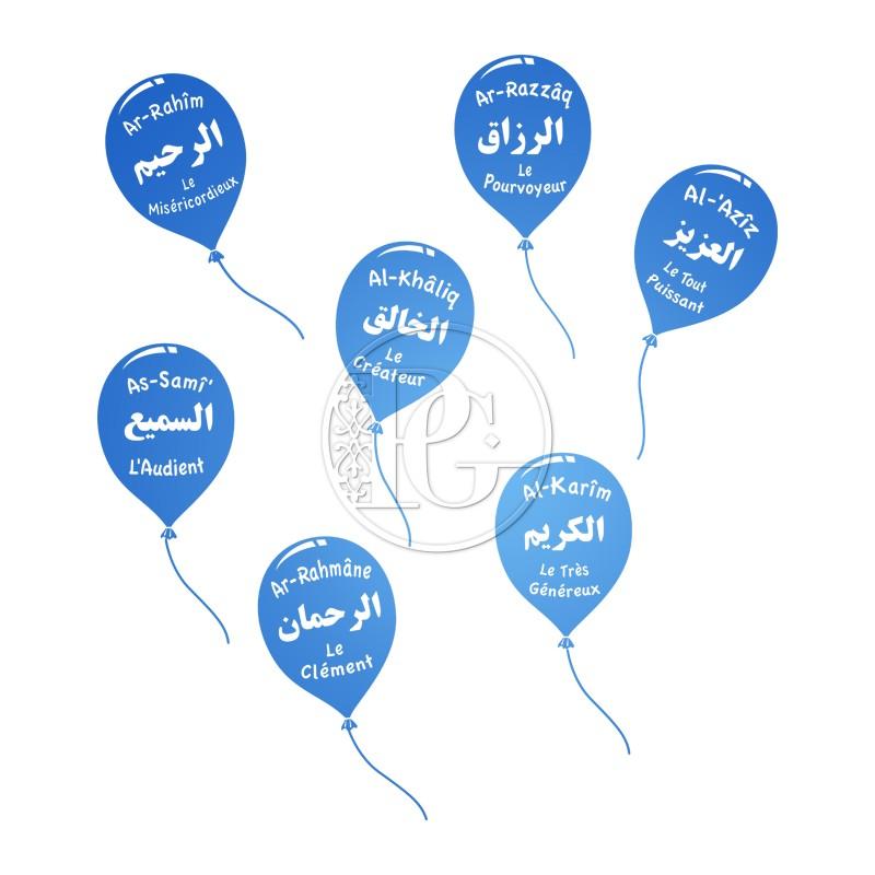 Ballons Noms d'Allah - le Pack