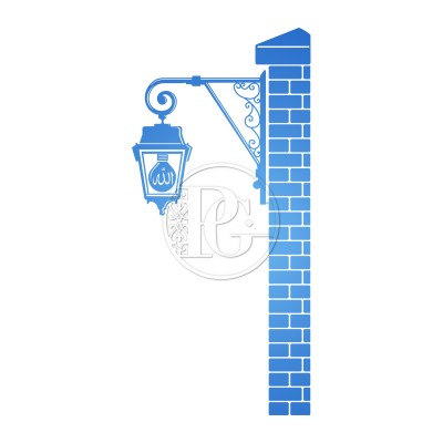 Sticker Applique sur mur de briques