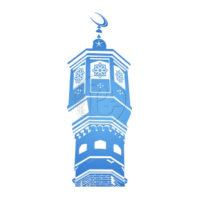 Sticker Minaret