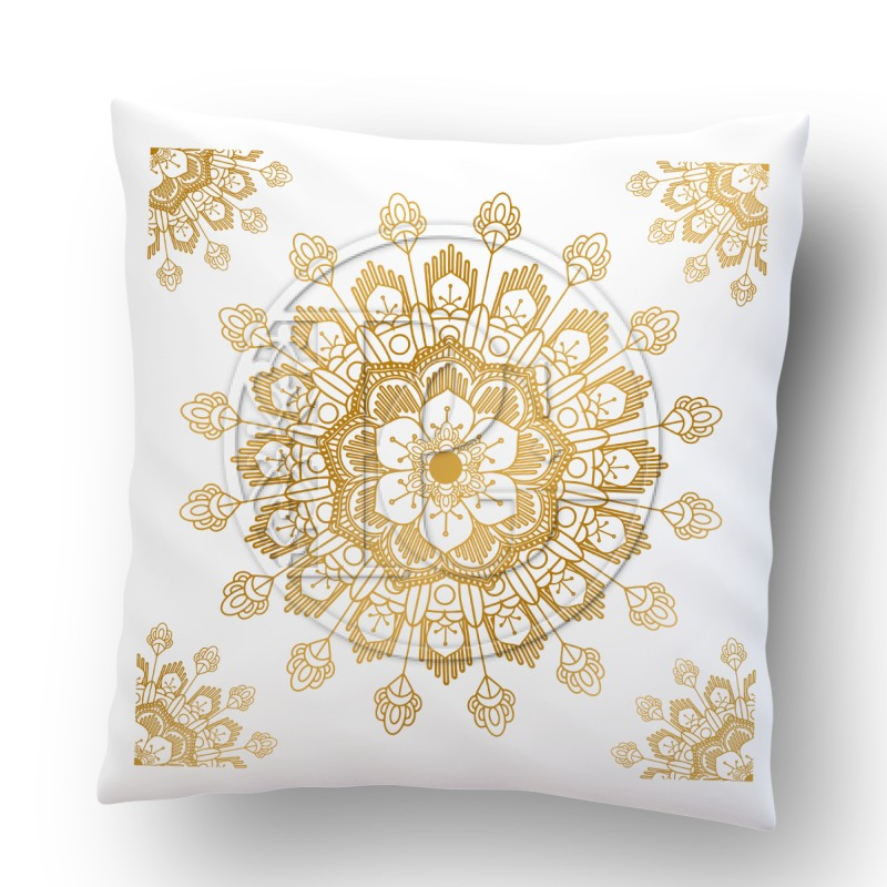 Coussin Mandala version 3 OR
