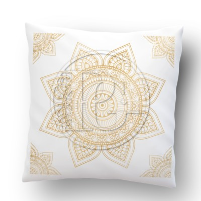 Coussin Mandala version 4 OR
