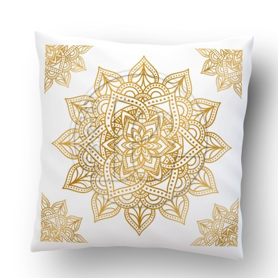 Coussin Mandala version 5 OR