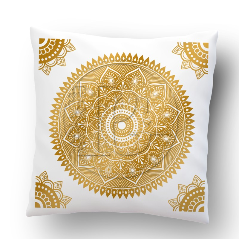 Coussin Mandala version 6 OR
